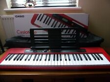 More details for casio keyboard ct-s200 carry bag stand boxed xmas