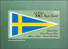 Royale Antenna Pennant Flag - SWEDEN NATIONAL - Classic Scooter - FP1.1118