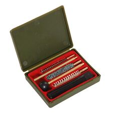 Kit di pulizia per pistola ed armi corte calibro 38 - 357 - 9mm completo Fosco