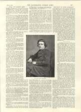 1894 Death Of Anton Rubinstein Disastrous Floods Creech Railway