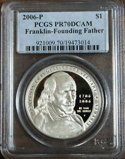 2006 P Franklin-Founding Father Dollar PCGS PR-70 DCAM