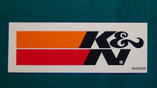 """K&N Filter Sticker Decal Racing New 4.5"""" Size"""