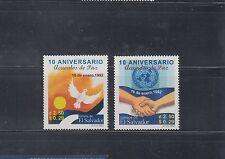 El Salvador 2002 Peace Sc 1558-1559 Mint Never Hinged