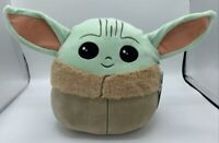 "NEW Star Wars The Child Baby YODA Squishmallows 10"" Plush Mandalorian"