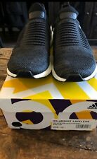 Adidas ULTRA BOOST Laceless Carbon Black 10.5