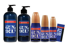 Authentic GUN OIL H2O Premium Water Based Personal Lubricant Sex Lube 6 SIZES! ®