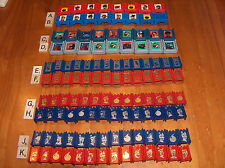 STRATEGO: READ! UPick replacement Pieces $1.25 each 1986 1975 1996 Narnia Pick