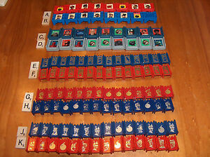 STRATEGO Pieces: READ! UPick replacement $1.25 each 1986 Star Wars Capture Flag