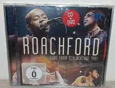 CD + DVD ROACHFORD - LIVE FROM SCHLACHTHOF - NUOVO NEW