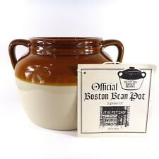 Official Boston Bean Pot Tag NO LID Double Handle from The Pot Shop