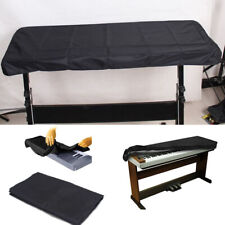 Black Keyboard Dust Cover for 61 Key Piano Storage waterproof On Stage