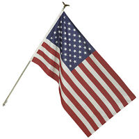 Flag Set   Independence Flag Co   3ft x 5ft Poly Cotton Flag Set  with Pole