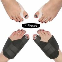 2 Types Big Toe Bunion Splint Straightener Corrector Hallux Valgu Pain Relief