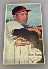 1964 Topps Giant Baseball Card # 50 Brooks Robinson Baltimore Orioles HOF