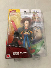 TOY STORY THAT TIME FORGOT BATTLE ARMOR SHERIFF WOODY RARE FIGURE NEW 2014 12345