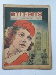 STRIPPED OF ITS WEALTH! - TIT-BITS #1848 (1944) - COMIC IN SPANISH - ARGENTINA