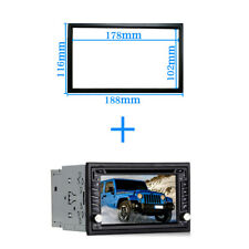 Car frame Universal 2Din auto radio android player Frame for radio 178*102mm