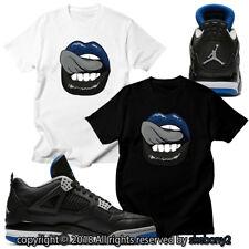 CUSTOM T SHIRT matching Nike Air Jordan 4 Retro Motorsport Away JD 4-4-6