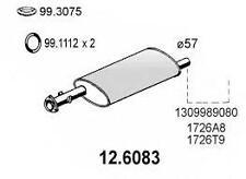 MARMITTA CENTRALE  CITROEN C25-DUCATO-JUMPER 709=126083=1309989080=1726A4