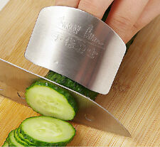 Stainless Steel Finger Hand Protector Guard Knife Kitchen Tool