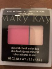 Mary Kay Mineral Cheek Color Duo Ripe Watermelon Discontinued!