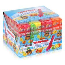 Flic'n'lic Lutscher Tropical 24 Stück 336g - Doppelter Fruchtgeschmack (1er Pack
