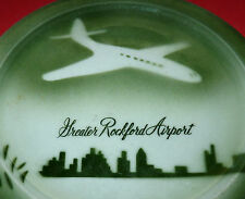 Airline Airplane Great Rockford Airport Restaurant Ware China Plate Chicago eBay