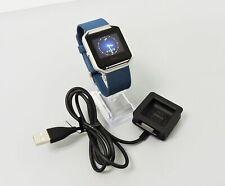 Fitbit Blaze Smart Fitness Watch  Large Blue