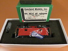 BRASS New Haven NE-6 CABOOSE OVERLAND MODELS INC. UNDECORATED SEE DESCRIPTION