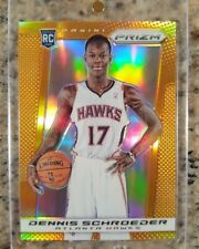 2013-14 Panini Prizm Dennis Schroder ROOKIE RC Orange /60. Rare rookie. Thunder