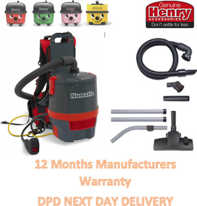 RED Numatic RSV150 LIGHT WEIGHT Back Pack Vacuum Cleaner 2021 Version Brand New