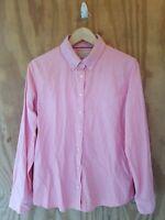 Banana Republic Women's Oxford Shirt Long Sleeve Button Down 100% Cotton.Size L