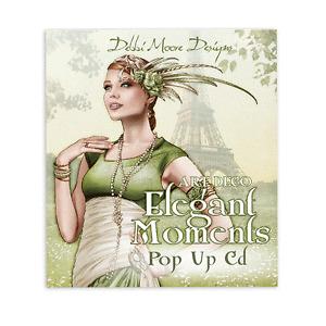 Debbi Moore Art Deco Elegant Moments Pop Up CD Rom x 1 (322749)