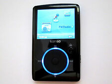 SanDisk Sansa Fuze 4GB FM/MP3 Player w/microSD slot + New Firmware + Bonus