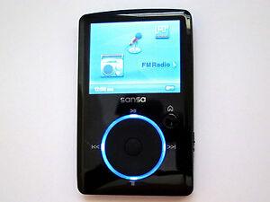 SanDisk Sansa Fuze 4GB FM/MP3 Player w/microSD slot Black