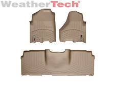 WeatherTech DigitalFit FloorLiner - Dodge Ram 2500/3500 Mega - 2010-2012 -Tan