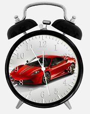"Super Car Alarm Desk Clock 3.75"" Home or Office Decor W309 Nice For Gift"