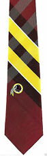 Washington Redskins Grid Mens Necktie NFL Football Logo Sport Fan Plaid Tie New