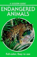 Endangered Animals: 140 Species in Full Color (Golden Guide)