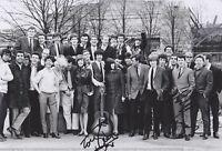 Mike Pender, John McNally & Tony Crane HAND SIGNED 12x8 Photo, Autograph