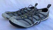 Merrell Barefoot Glove Mens ICE Trail Shoes Grey Yellow Vibram Soles Size US 8