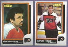 1986-87 OPC O-PEE-CHEE Philadelphia Flyers Team Set