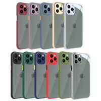 For iPhone 12 Pro 11 Pro Max XR XS X 8 7 Shockproof Hybrid Soft Armor Case Cover