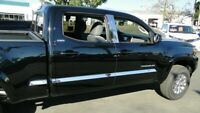 fit:16-20 Toyota Tacoma Access Cab 6' Bed Trim Chrome Body Side Molding ABL