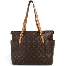 Authentic LOUIS VUITTON M56689 Monogram Totally MM TJ4193 Tote Bag PVC/leath...