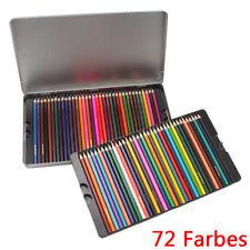 72 Farbe Künstler Buntstifte Zeichenstifte Farbstifte Malstifte Bleistifte Stift