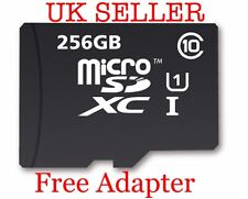 256GB Micro SD Memory Card for all mobiles camera laps tabs New UK