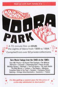 Amusement Park Idora Park Youngstown, Ohio Video DVD FREE SHIPPING!!