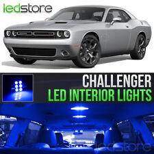 2015-2018 Dodge Challenger Blue Interior LED Lights Kit Package