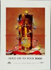 HAIG WHISKY - Vintage Original (NOT Repro!) ADVERTISEMENT. Free UK Postage